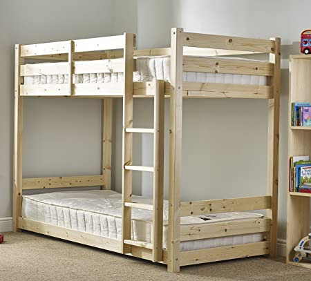 Strictly Beds Pluto Short Bunk Bed Shorty Bunk Bed With 2x