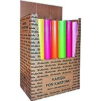 Keskin Color 201102-99 50 * 70 160Gr 10Lu Krş.Poş. Fon Kartonu 50x70 Ebadında 160Gr 10Lu Karışık Renklerde Poşette Fon Kartonu Çok Renkli