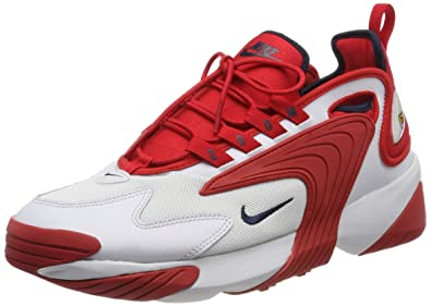 premium selection f187a 43f49 Image Unavailable. Image not available for. Color  Nike AO0269-102  Men s Zoom  2K Off White University Red-Obsidian Running