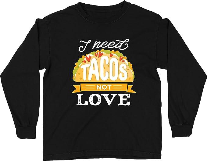 lepni.me Camiseta para Niño/Niña Necesito Tacos No Me Gusta La Comida Mexicana Graciosa Cotización de Comida: Amazon.es: Ropa y accesorios
