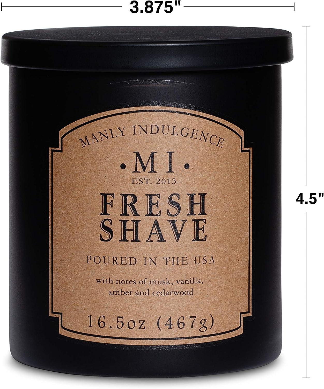 LOT OF 2 MANLY INDULGENCE Vintage Oak Soy Blend Candle 16 oz each  NEW