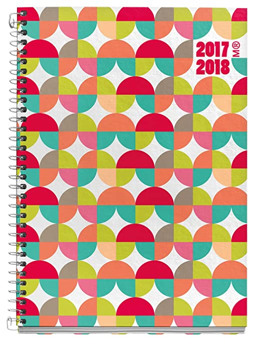 Miquelrius 270006 - Agenda escolar plus, 150 x 213 mm, semana a la vista, diseño olas