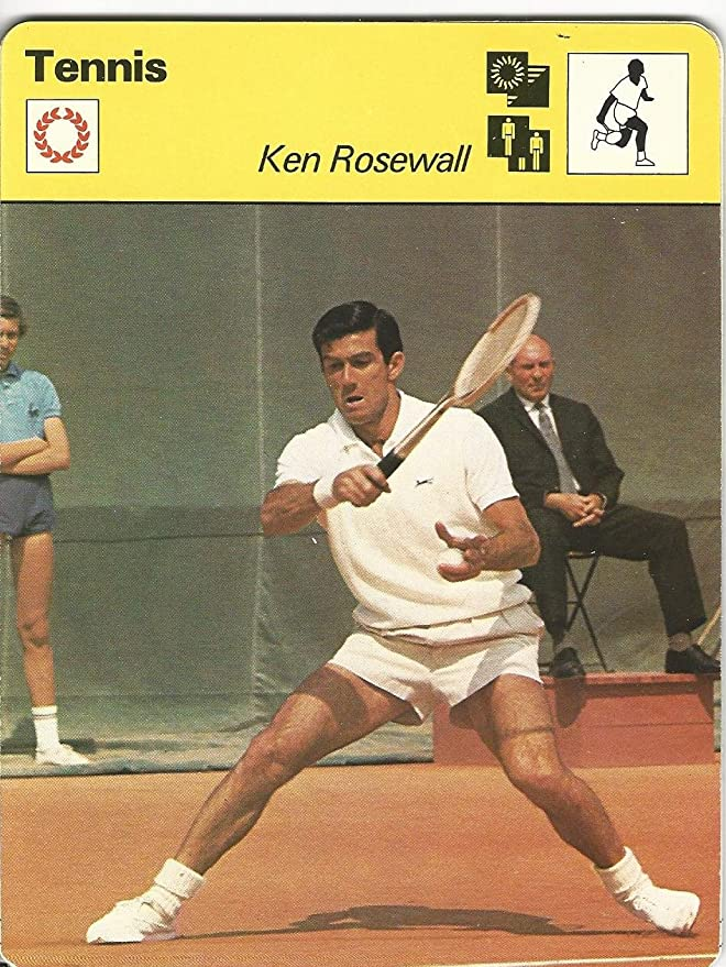 1977-79 Sportscaster Card, 13.15 Tennis