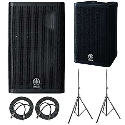 Amazon com: Yamaha DXR8 Powered Speaker Cabinet (2-Pack