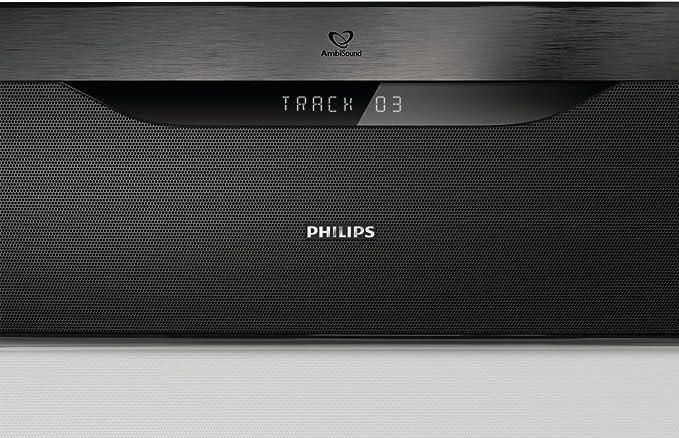 Philips HTS7140/12 SoundBar Sistema de Cine en casa Reproducción ...