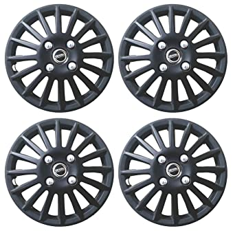 Hotwheelz Sporty Wheel Cover 15inch For Volkswagen Polo-Matte Black-4pc: Amazon.in: Car & Motorbike