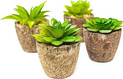 Faux Succulents Miniature garden Imitation Succulents DIY Plants for Home Decor DR017 Artificial Succulents