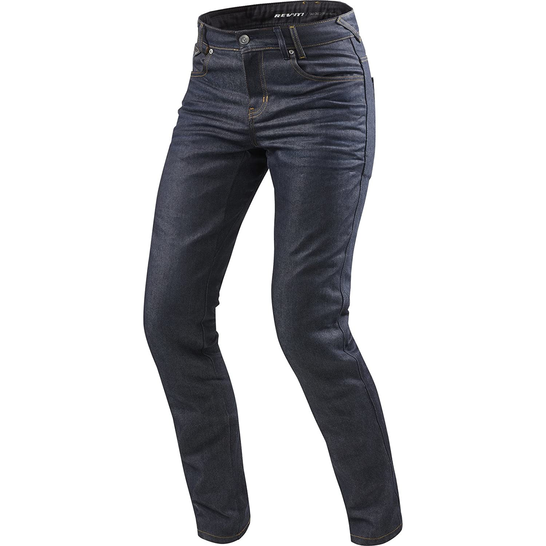 LOMBARD 2 RF Herren Motorrad Jeans std//kurz//lang dunkel blau, 33//34 REVIT