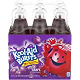 Kool-Aid Bursts Grape Ready-To-Drink Soft Drink, 6 ct - 6.75 fl oz Bottles