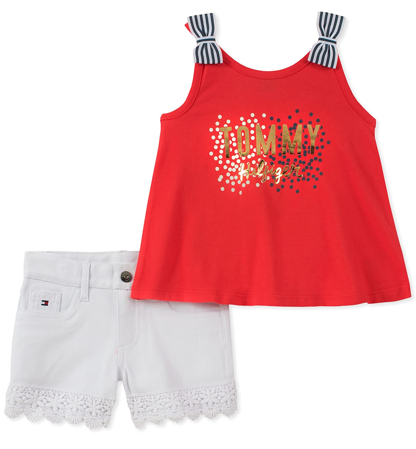 Tommy Hilfiger Girls' Shorts Set,