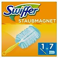 Swiffer Staubmagnet Set (1Griff und 7 Staubmagnet Tücher) 1er Pack