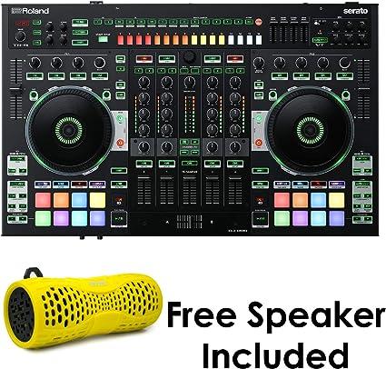 EMB Rechargeable Waterproof Bluetooth Speaker Outdoor Wireless Shower Yellow