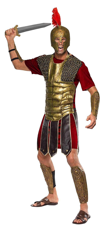Smiffys - Disfraz de gladiador perseo para hombre, talla L ...