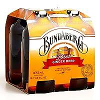 Bundaberg Diet Ginger Beer 4-Pack 11.5 oz each (6 Items Per Order)