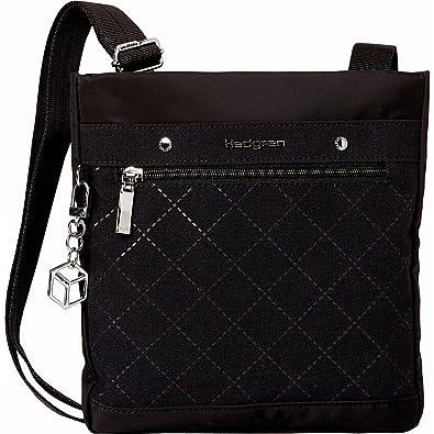 293dcc2420 Hedgren Women s Diamond Star Gem Crossbody Black One Size  Handbags   Amazon.com