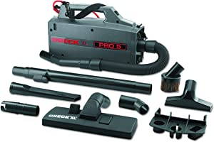 Oreck Commercial BB900DGR XL Pro 5 Super Compact Canister Vacuum, 30' Power Cord (Renewed)