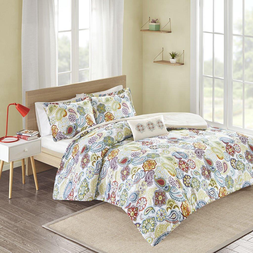 Mi-Zone Tamil Comforter Set Size Twin Extra Long, Twin/Twin X-Large, Multi