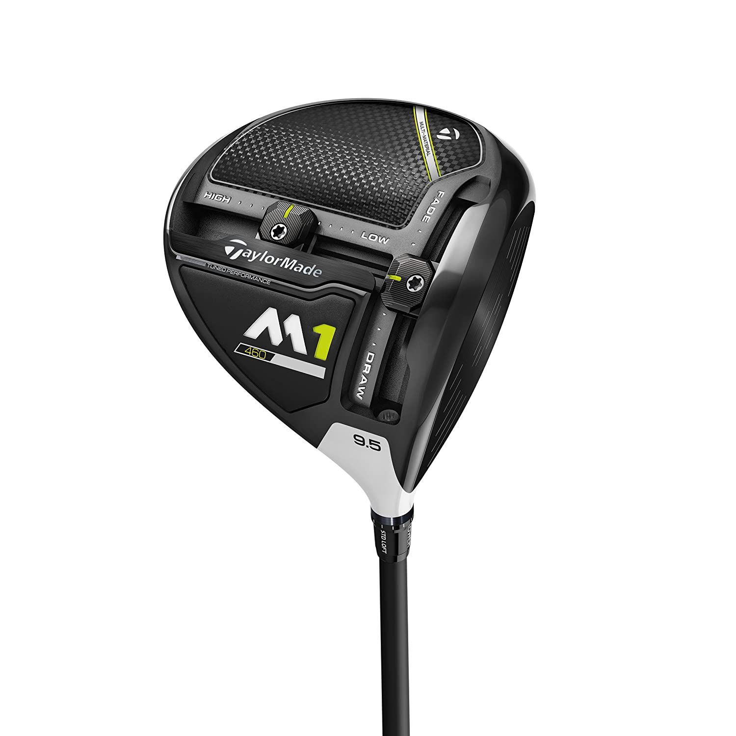Taylor Made M1 460 Drivers de Golf, Hombre, Negro, 9.5