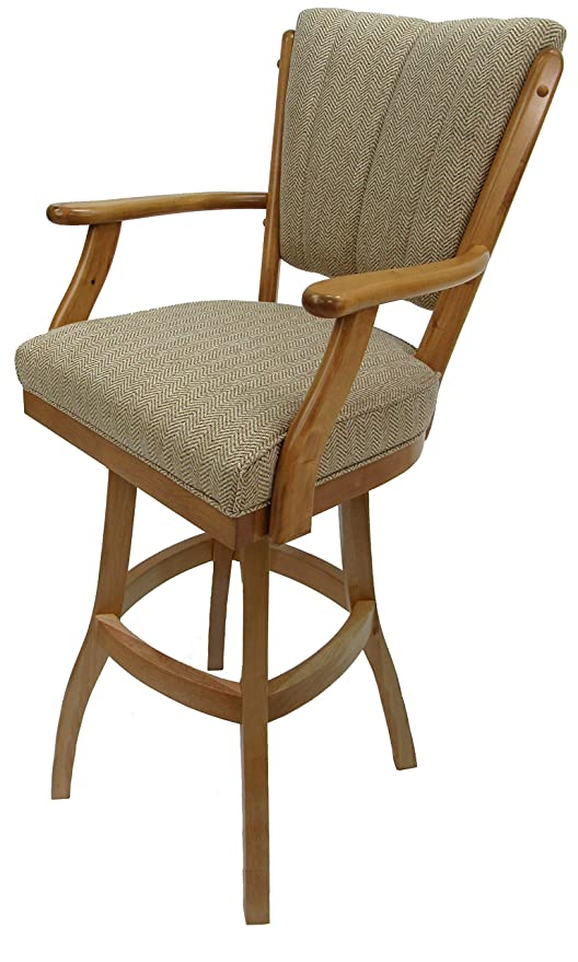 Outstanding Amazon Com Tobias Design Extra Tall Spectator Swivel Wood Ibusinesslaw Wood Chair Design Ideas Ibusinesslaworg