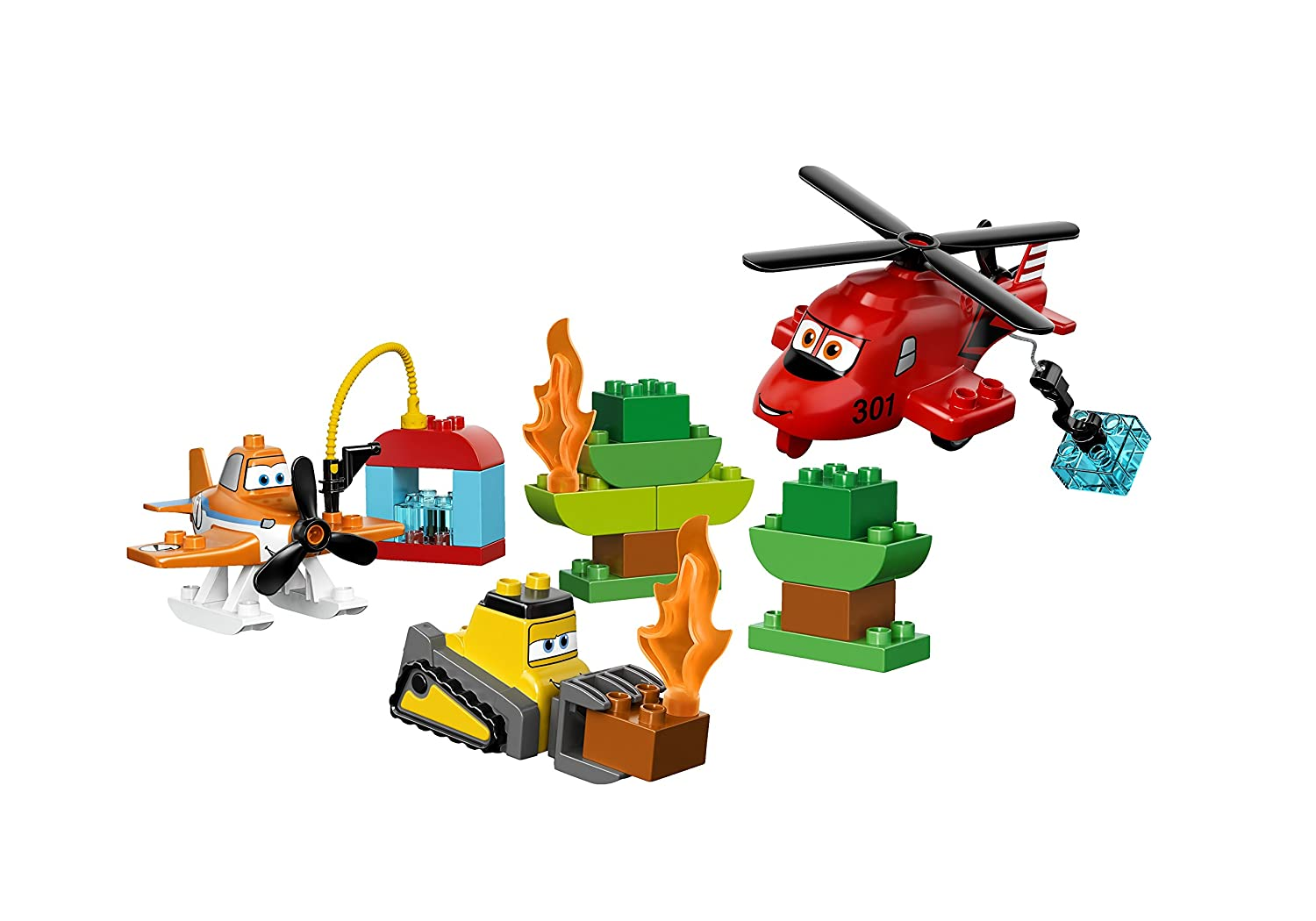 LEGO DUPLO Planes Fire and Rescue Team 10538 Building Toy 6061863