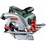 Bosch PKS 55  Circular Saw  (saw blade, parallel guide, cardboard box, 1.200 W)