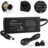 [2 Years Warranty] 90W Faster Charge - Elivebuy® AC Adapter/Power Supply&Cord for Gateway NV52 NV53 AJ2 MC7801u MD2409h MD2601u MD2614u MD78 MD7818u MD7820u MS2273 MS2274 MS2285 NV5213u NV53 NV53A NV53A36u NV54 NV55C NV59 NV78 NV7802u NV79 NV7901u NV7915u
