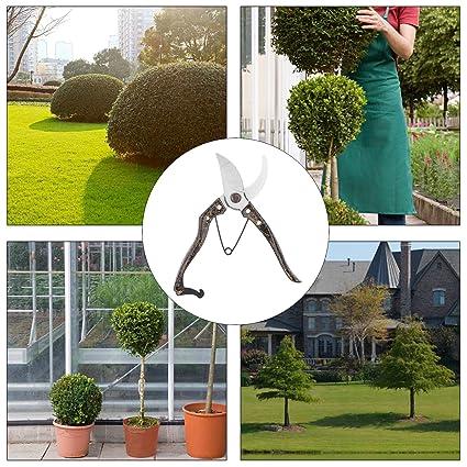 Profesional Sharp y segura Bypass Tijeras de jardinería ...