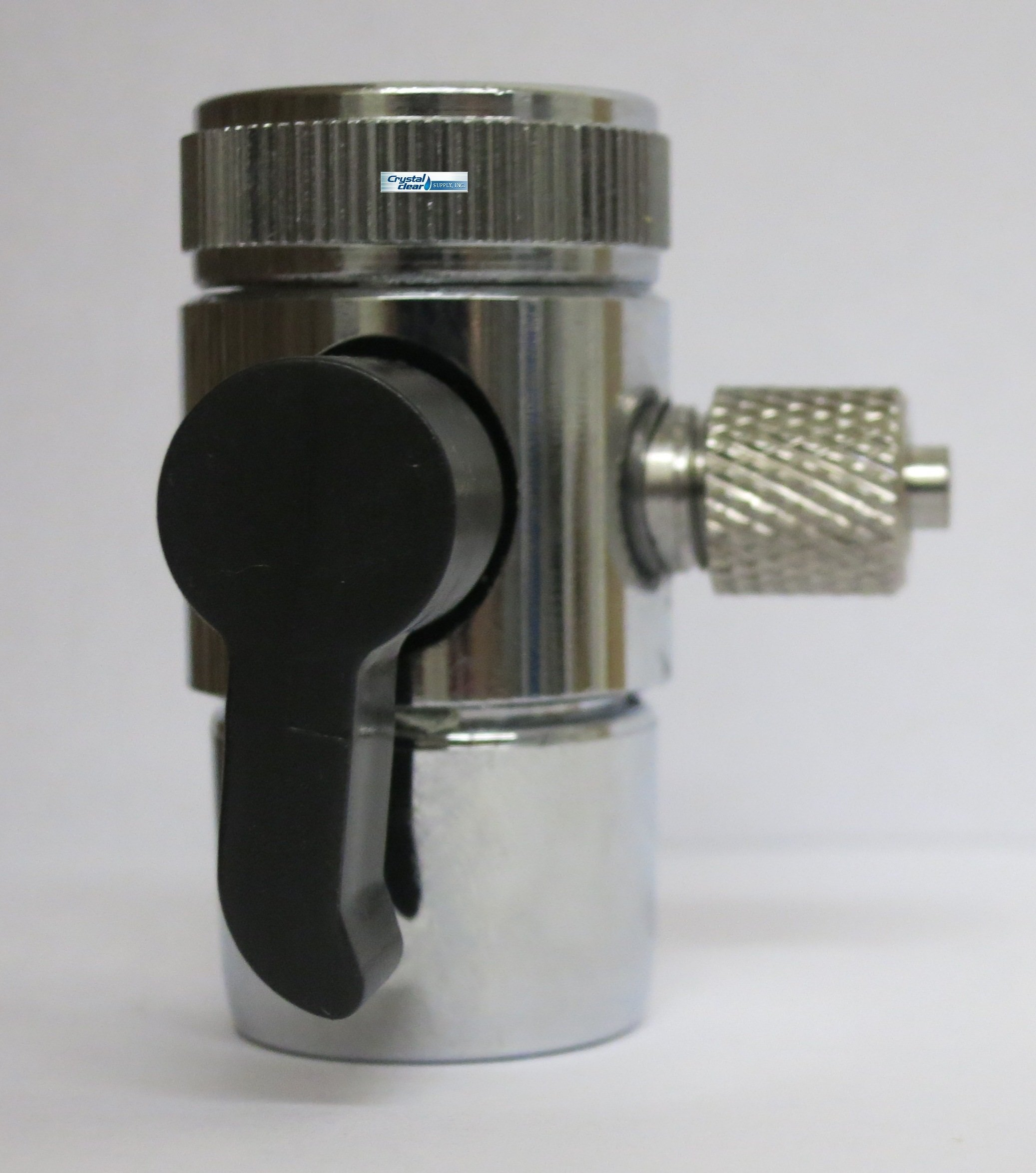 Crystal Clear Countertop Diverter Valve