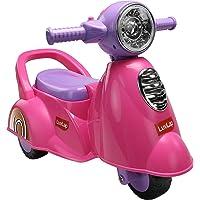 Luvlap Wheelie Scooter Ride-On, Pink