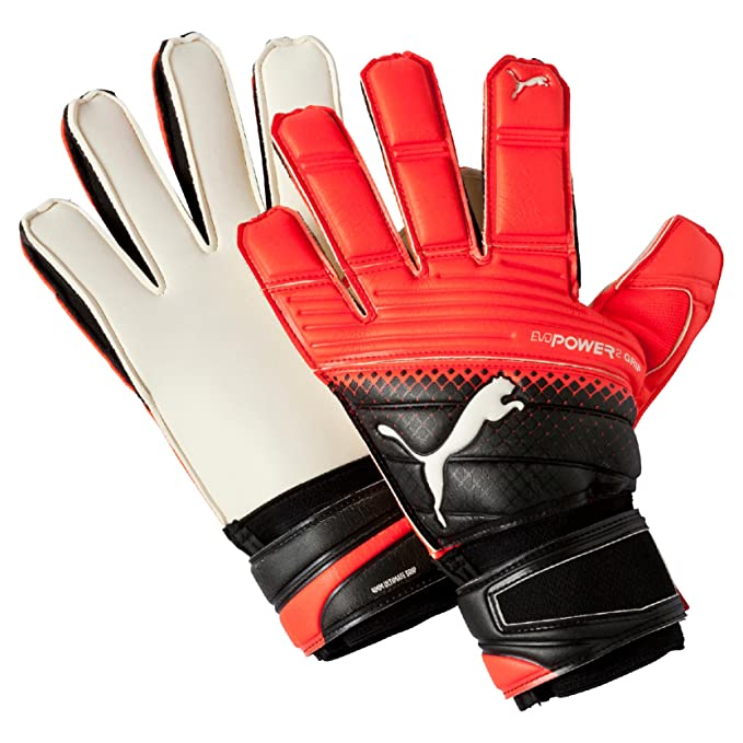 86df858c958aaf Puma Evopower Grip 2.3 Rc, Guanti da Portiere Uomo, Multicolore (Black/Red