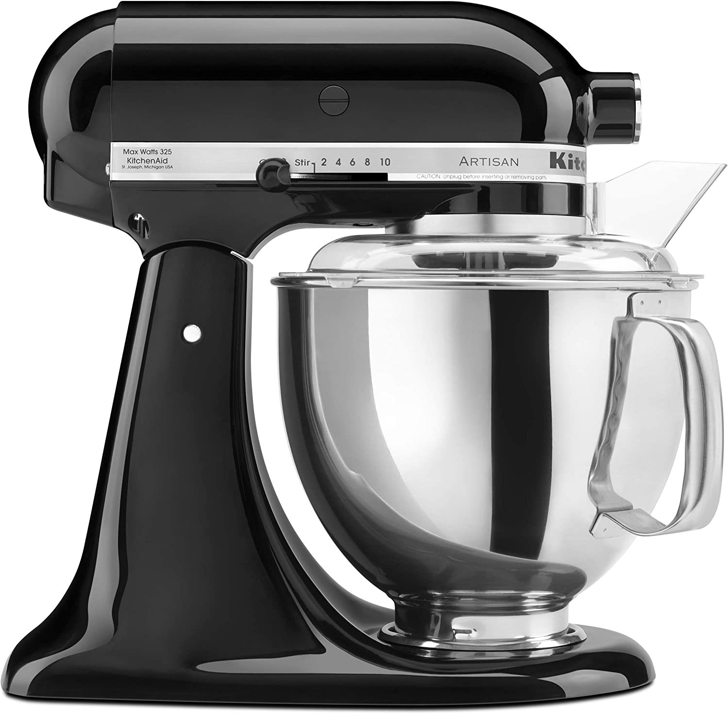 KitchenAid Artisan Series 5-Qt. Stand Mixer with Pouring Shield - Onyx Black