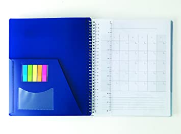 amazon com staples accel spine guard 1 subject notebook 8 1 2 x
