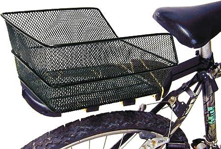 Ducomi Cesta Bicicleta Trasera Universal Para Adultos Niña Y Niño 38 X 28 X 17 Cm Cesta Almacenaje Red De Metal Plastificada Anticorrosión Ideal Para Bicicletas Modernas Y Vintage Amazon Es