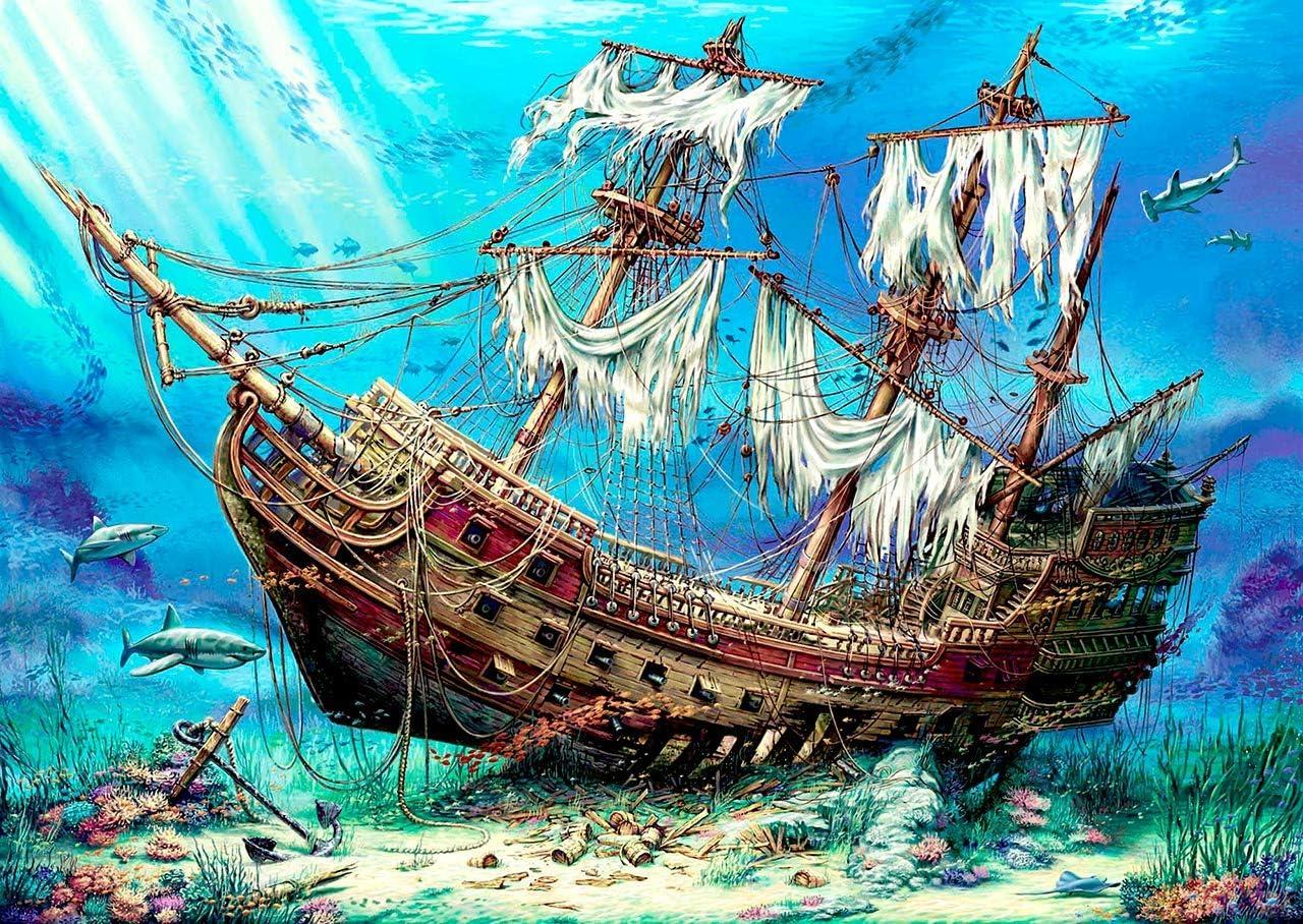 Anatolian 1000 Piece Puzzle Sea Cloud Puzzle