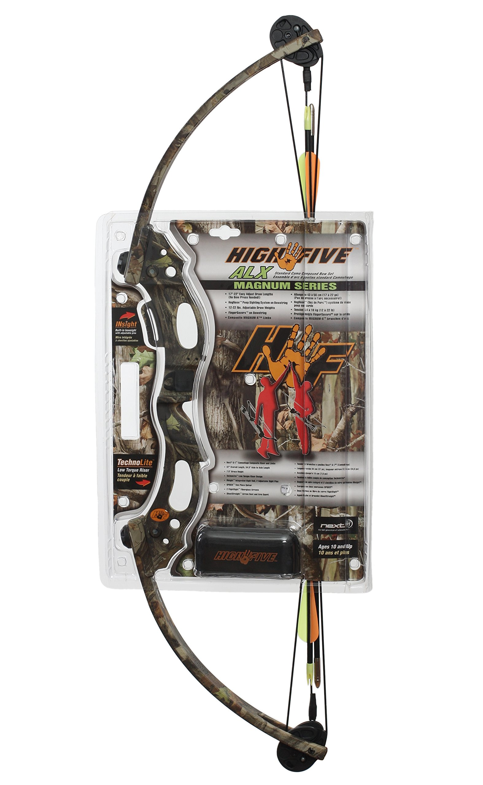 Creative Outdoor High Five 546 ALX Compound Bow Set