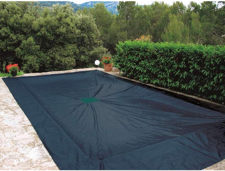 Provence Outillage Cubierta 9 x 5 m para Piscina Rectangular de plástico 240 g/m²