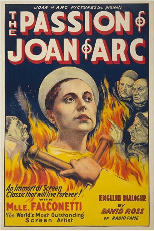 Amazon Com Buyenlarge The Passion Of Joan Of Arc Paper Poster 18 X 27 Posters Prints