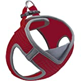 Kruz PET KZA308 Reflective V-Neck Step In Mesh Dog Harness - No Pull, Easy Walk, Quick Fit, Comfortable, Velcro-Adjustable Pe