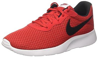 new style a2cdf 460a8 Nike Men s Tanjun Shoe Black Bright Crimson White Size 11.5 ...