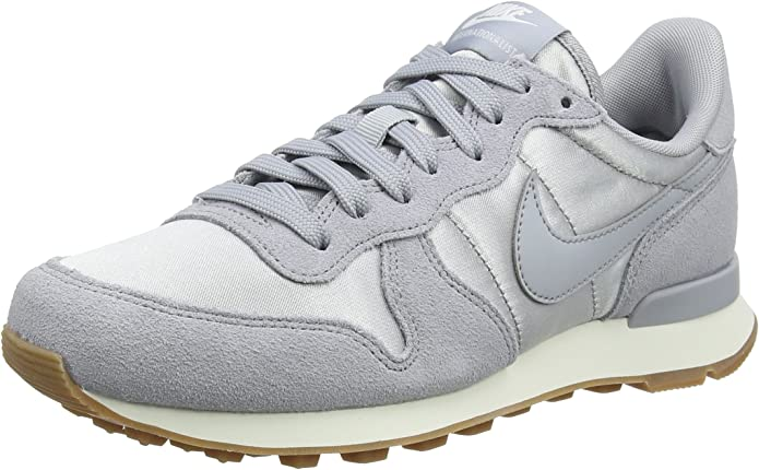 Nike Internationalist Sneakers Damen Grau/Silber