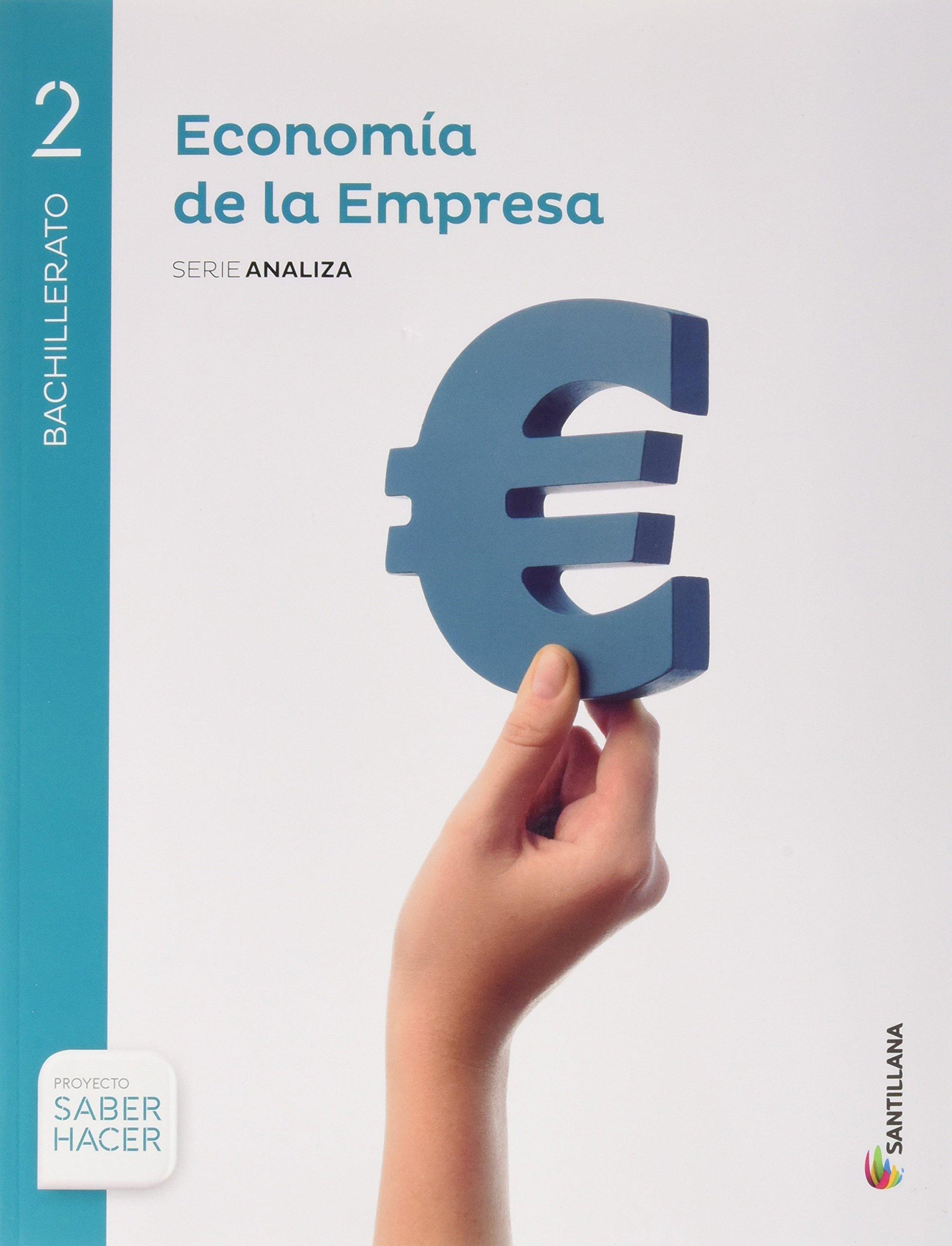 ECONOMÍA DE LA EMPRESA SERIE ANALIZA 2 BTO SABER HACER - 9788414101964: Amazon.es: Aa.Vv.: Libros