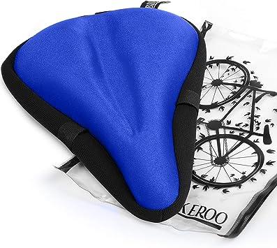 Funda Asiento Bicicleta Estática Más Cómodo [Almohadilla Gel Suave ...