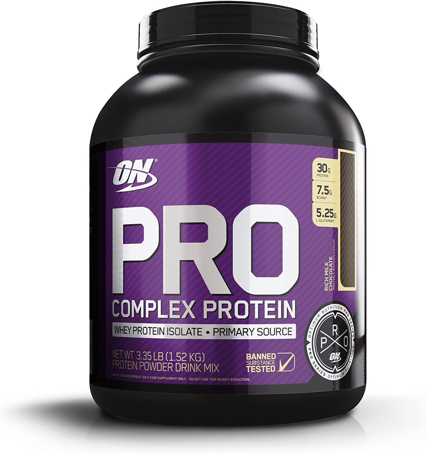 OPTIMUM NUTRITION Pro Complex Whey Protein Powder Blend, Rich Milk Chocolate, 3.35 lbs Packaging May Vary
