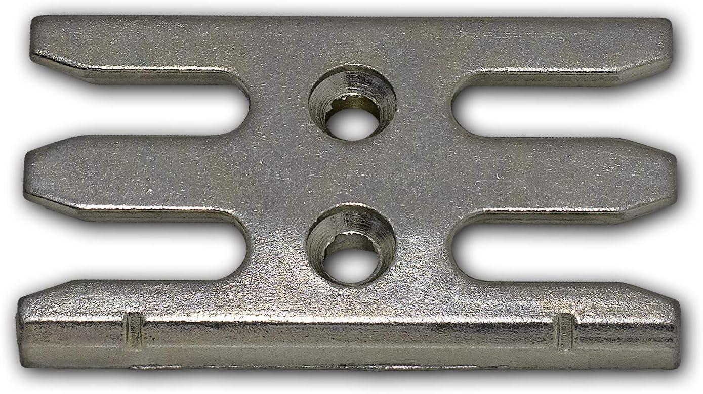 Avocet WMS Universal Espag Mushroom uPVC Window Keep ERKUNIM Strike Plate