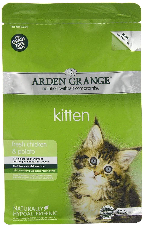 Arden grange dry cat food kitten 400 g amazon pet supplies geenschuldenfo Images