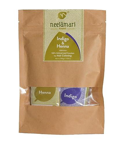 Buy Neelamari Natural Indigo With Henna Powder 100 G 100 G