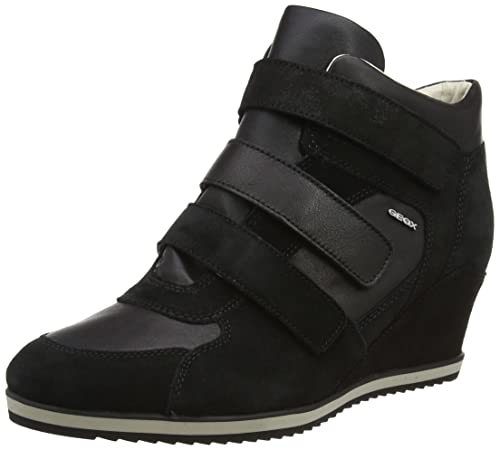 Womens D Illusion D Hi-Top Sneakers Geox EwO4NfrtyN