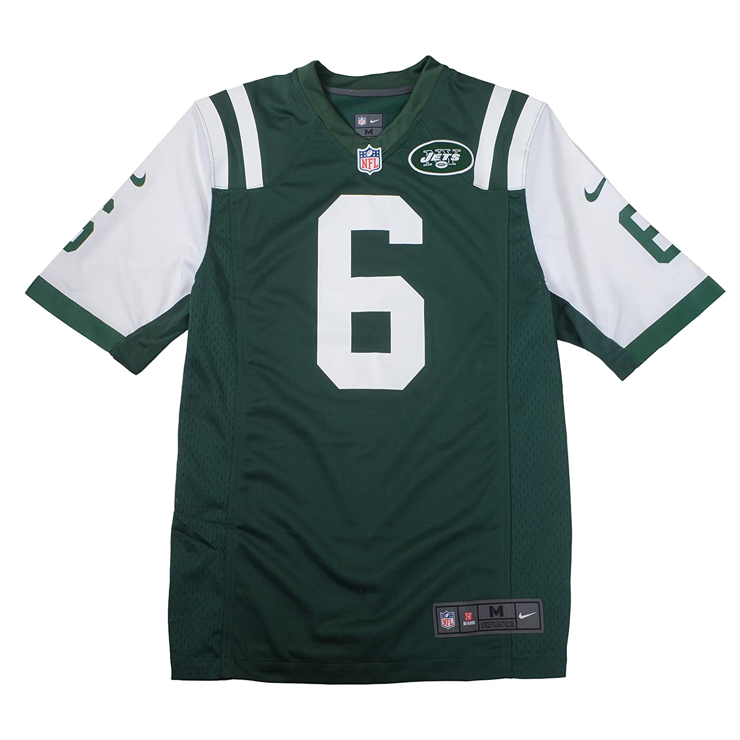 4ad3b45e2c3 Amazon.com : Men's Nike NFL Mark Sanchez Home Game Replica New York Jets  Jersey Size Medium : Sports Fan Jerseys : Clothing