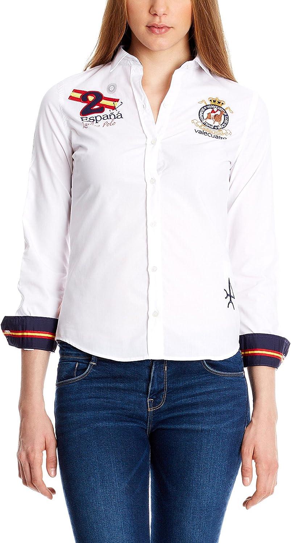 Valecuatro Camisa Mujer Blanco XS: Amazon.es: Ropa y accesorios