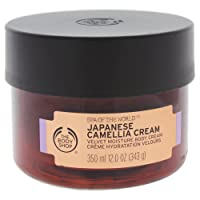 The Body Shop Spa of the World Japanese Camellia Body Cream, 12.0 oz.